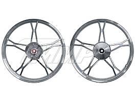 Диск колеса (передний) Delta 1,2*17 (литой)