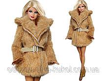 Одежда для кукол Барби - шуба*