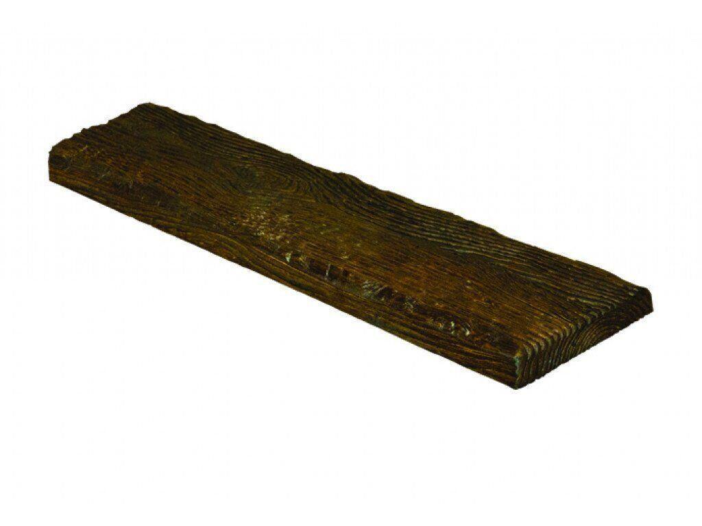 Панель Decowood рустик 19х3,5см темная (3м)