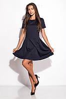 Платье женское 120P068 (Темно-синий), фото 1