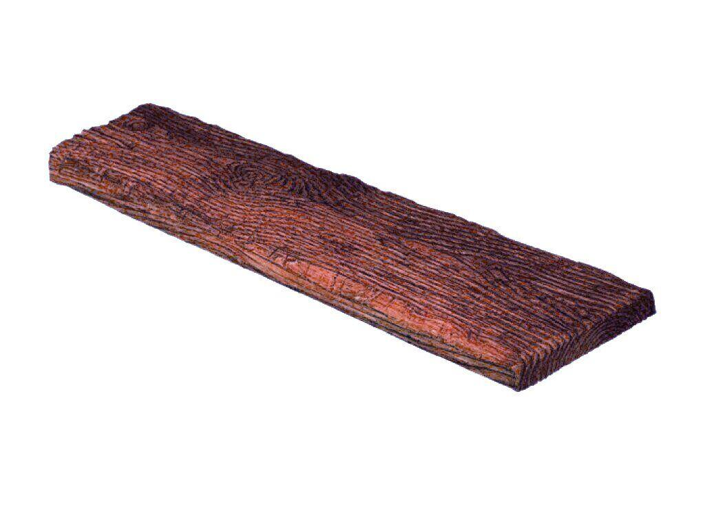 Панель Decowood рустик 19х3,5см красное дерево