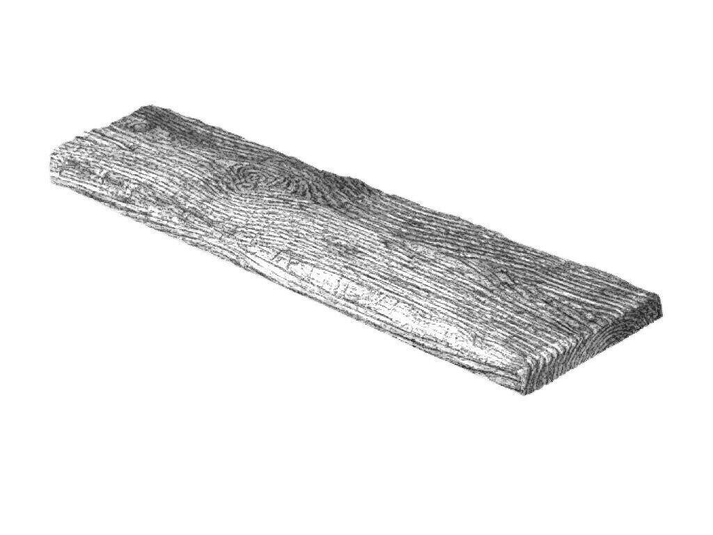 Панель Decowood рустик 19х3,5см серое дерево