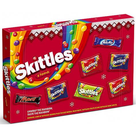 Skittles & Friends Medium Selection Box, 150 г, фото 2