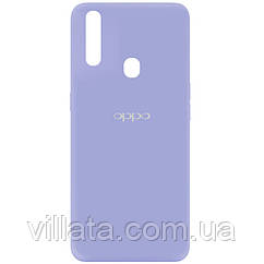 Чехол Silicone Cover My Color Full Protective (A) для Oppo A31 Сиреневый / Dasheen
