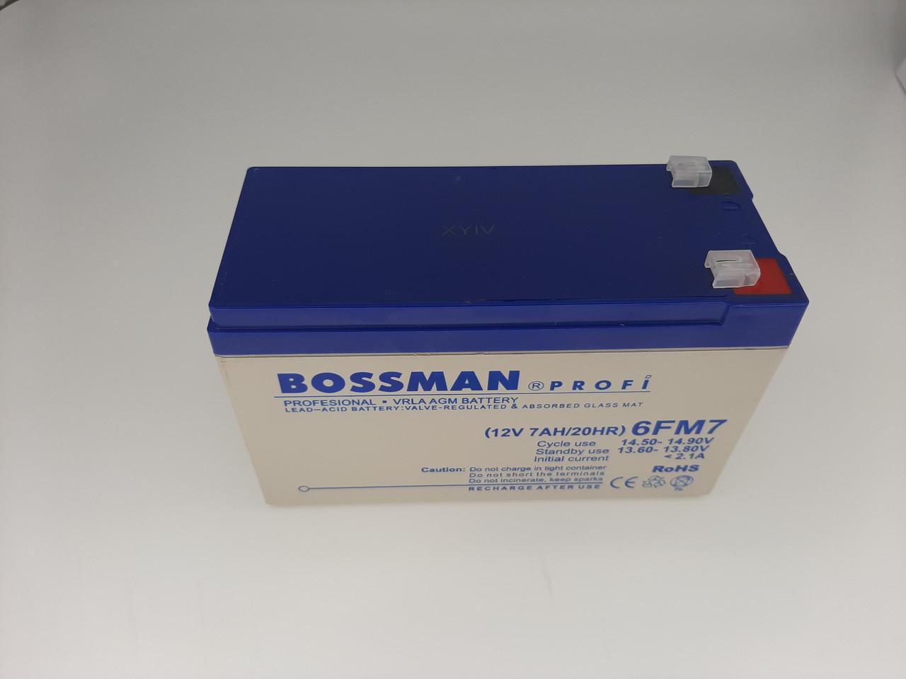 Аккумулятор 6FM7 (12V 7AH) Размеры  151*65*95+6мм Grey-blue свинцово-кислотный