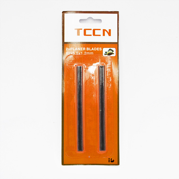 Лезвие на рубанок TCCN 82x5.5x1.2mm