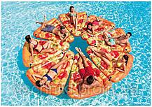 """Матрац Intex 58752 EU """"Піца"""" жовтий, 175 х 145 см, від 12-ти років, фото 3"""