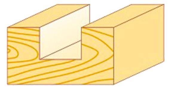 Фреза пазовая прямая Атака Ø8x18мм (001180), фото 2