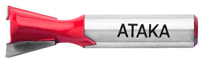 Фреза пазовая конструкционная Атака Ø8x12.7мм (101127), фото 2