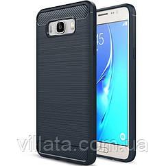 TPU чехол Slim Series для Samsung J710F Galaxy J7 (2016) Синий