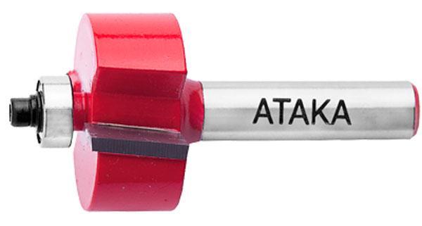 Фреза кромочная фальцевая Атака Ø8x25.4мм (151254)