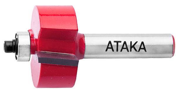 Фреза кромочная фальцевая Атака Ø8x25.4мм (151254), фото 2