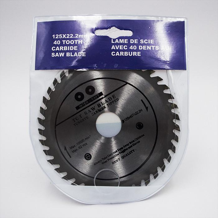 Диск пильный Inter-Craft 124x48x22 по алюминию