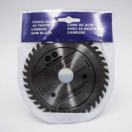 Диск пильный Inter-Craft 124x48x22 по алюминию, фото 2