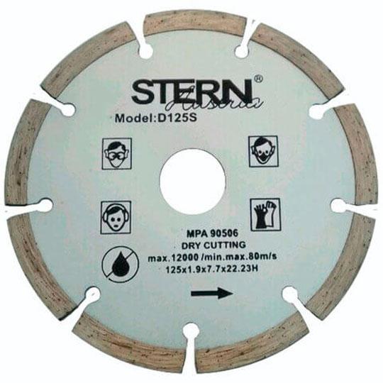 Диск алмазный отрезной Stern 125мм S