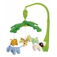 Мобиль карусель на кроватку плюшевая Canpol Babies 2/350