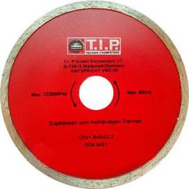 Диск алмазный отрезной T.I.P. 125мм C