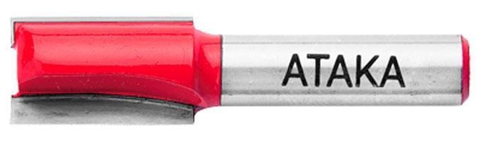 Фреза пазовая прямая Атака Ø12x20мм (022200B-2) с подрезателем