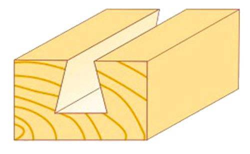 Фреза пазова конструкційна Атака Ø12x12.7мм (102127), фото 2