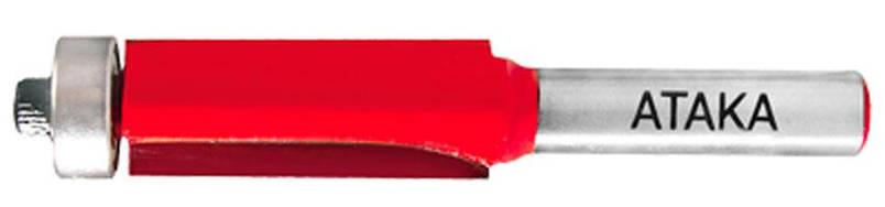 Фреза кромочная прямая Атака Ø12x12.7мм (301127-4), фото 2