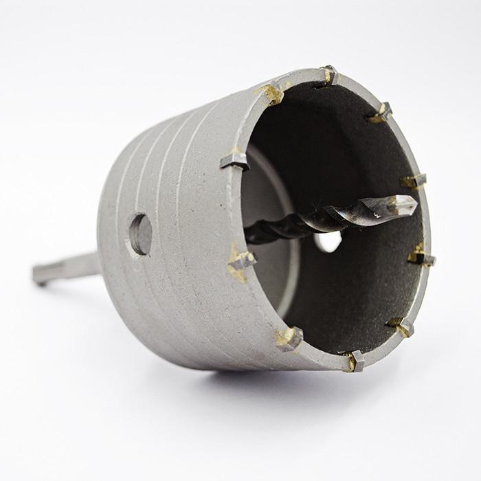 Коронка по бетону Ø 75 мм з хвостовиком SDS-Plus