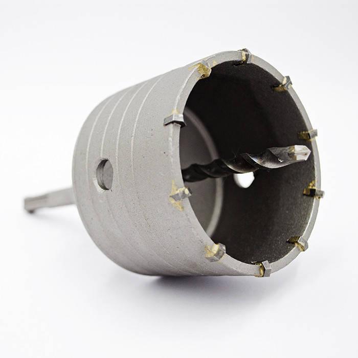 Коронка по бетону Ø 75 мм з хвостовиком SDS-Plus, фото 2