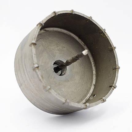 Коронка по бетону Ø 80 мм с хвостовиком SDS-Plus, фото 2