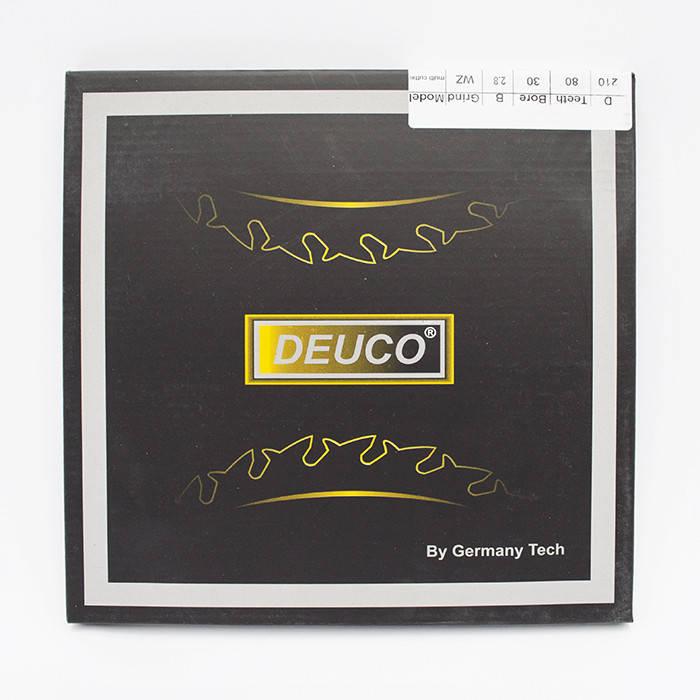 Диск пильный DEUCO 210x80x30 по алюминию, фото 2