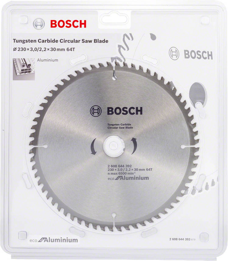 Диск пильный Bosch 230x64x30 по алюминию, фото 2