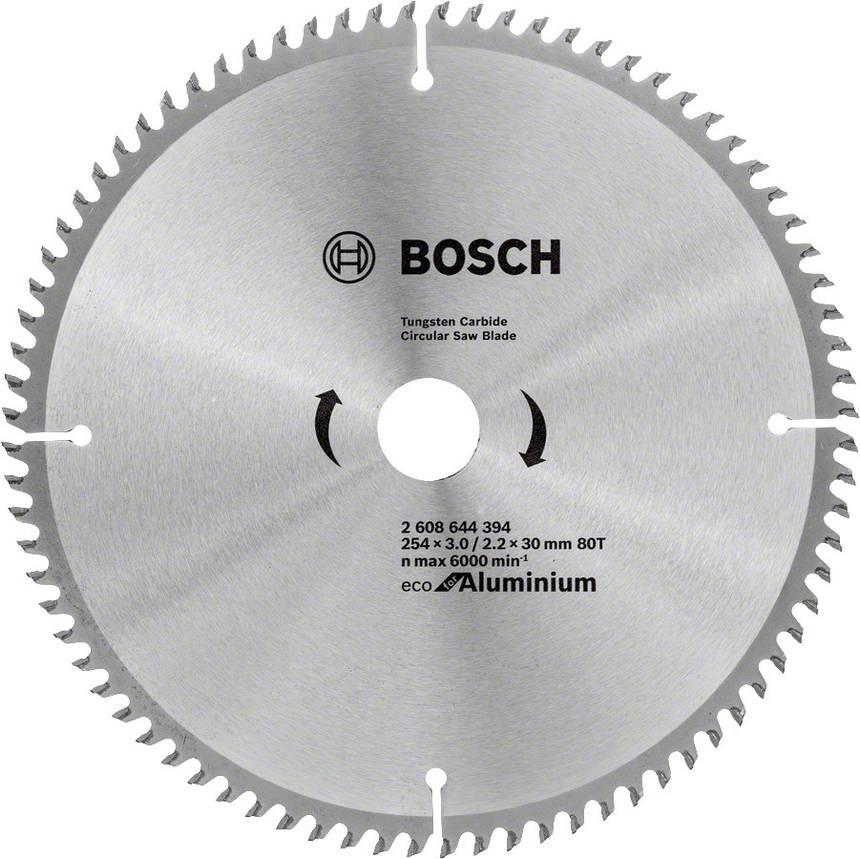 Диск пильный Bosch 254x80x30 по алюминию, фото 2