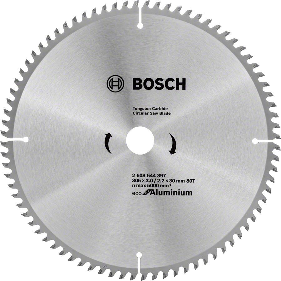 Диск пильный Bosch 305x80x30 по алюминию