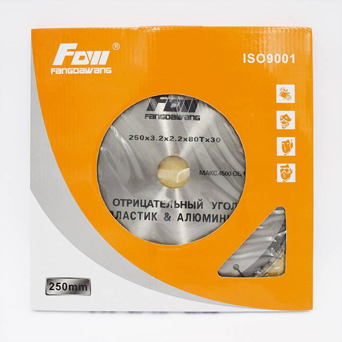 Диск пильный Fow 250x80x32 по алюминию, фото 2