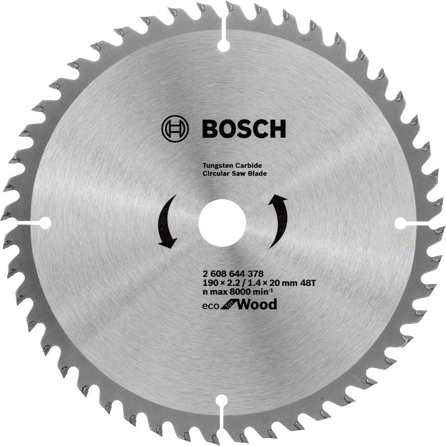 Диск пильный Bosch 190x48x20 по дереву