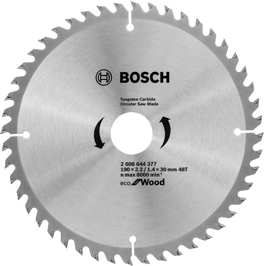 Диск пильный Bosch 190x48x30 по дереву