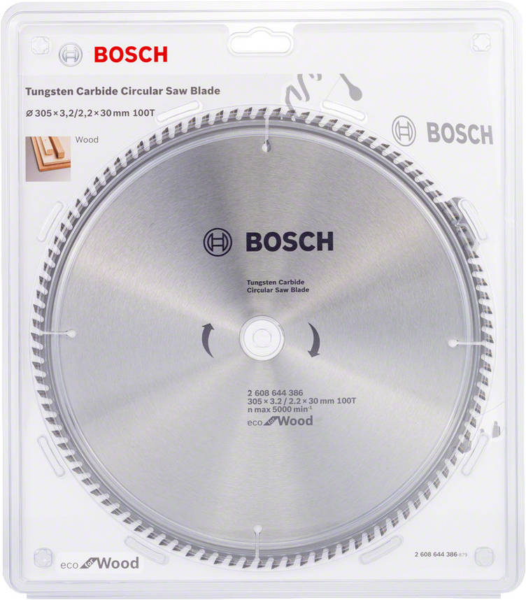 Диск пильный Bosch 305x100x30 по дереву, фото 2