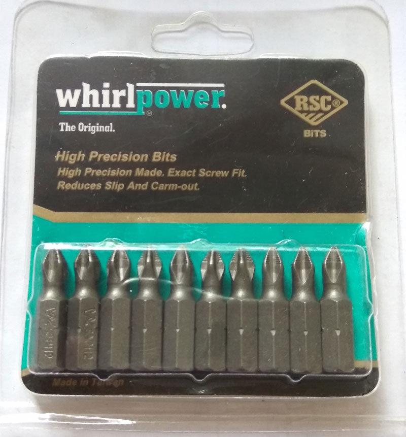 Бита Whirlpower PH2 5x70мм (10шт.)