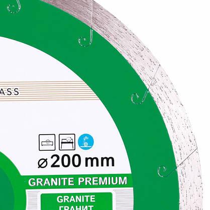 Диск алмазный отрезной Distar 200мм Granite Premium, фото 2