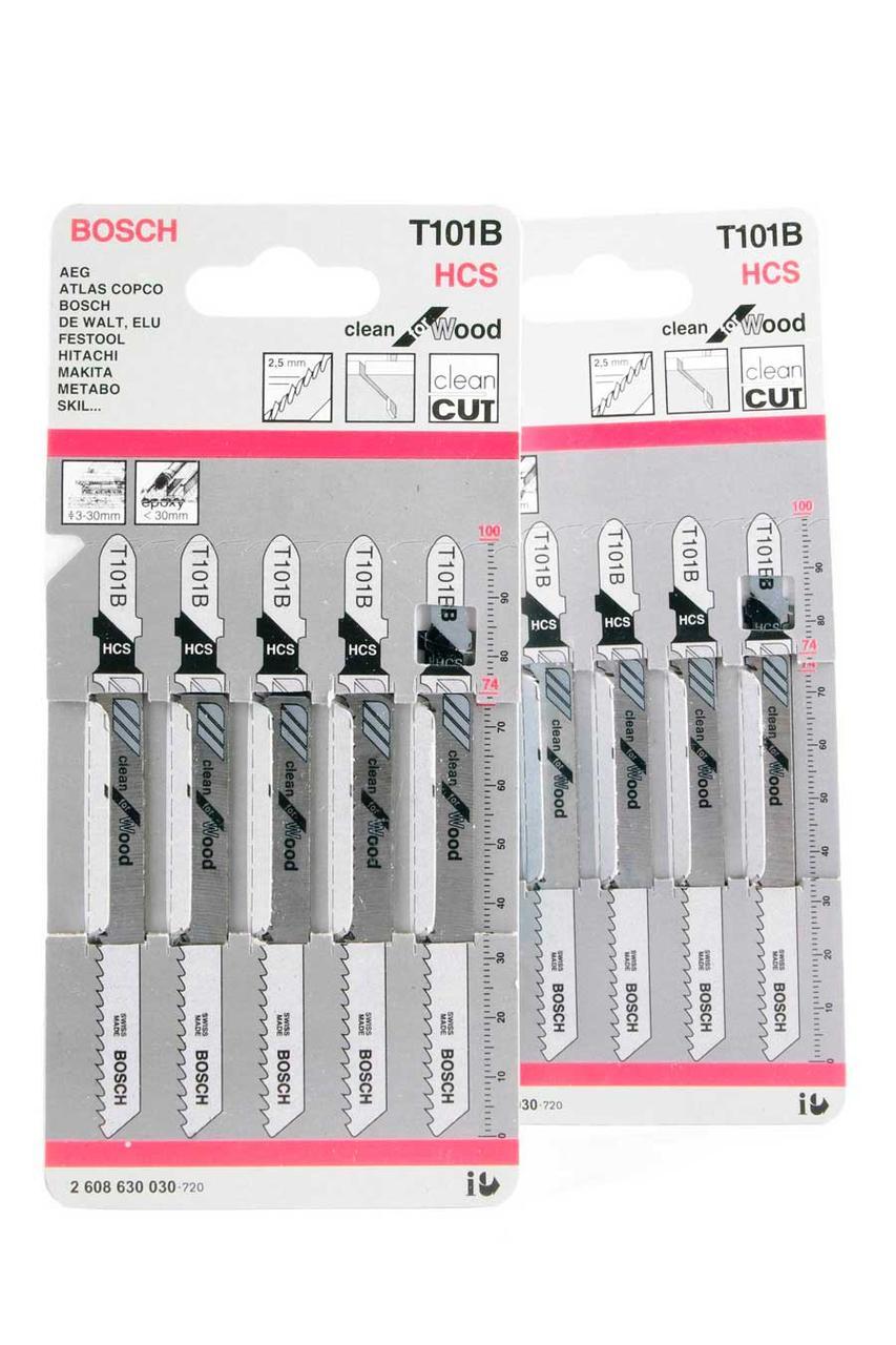 Пилочки для электролобзика Bosch T101B (5шт.)