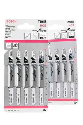 Пилочки для электролобзика Bosch T101B (5шт.), фото 2