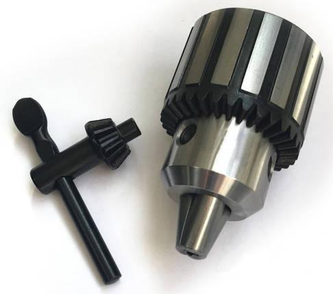 Патрон для дрилі B22 Ø5.0-20мм з ключем, фото 2