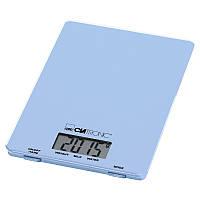 Весы кухонные до 5 кг Clatronic KW 3626 точность 1 г (синие) 150 x 17 x 220 мм Германия