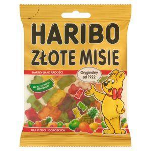 Конфеты желейные Haribo Zlote Misie (мишки), 100г