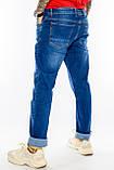 Батальные джинсы Franco Benussi Fb16-625 синие, фото 7