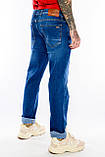 Батальные джинсы Franco Benussi Fb16-625 синие, фото 8