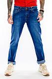 Батальные джинсы Franco Benussi Fb16-625 синие, фото 3