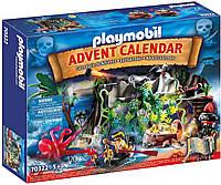 Playmobil Advent Calendar Плеймобил адвент календарь Остров Сокровищ  70322 Pirate Cove Treasure Hunt Advent, фото 1