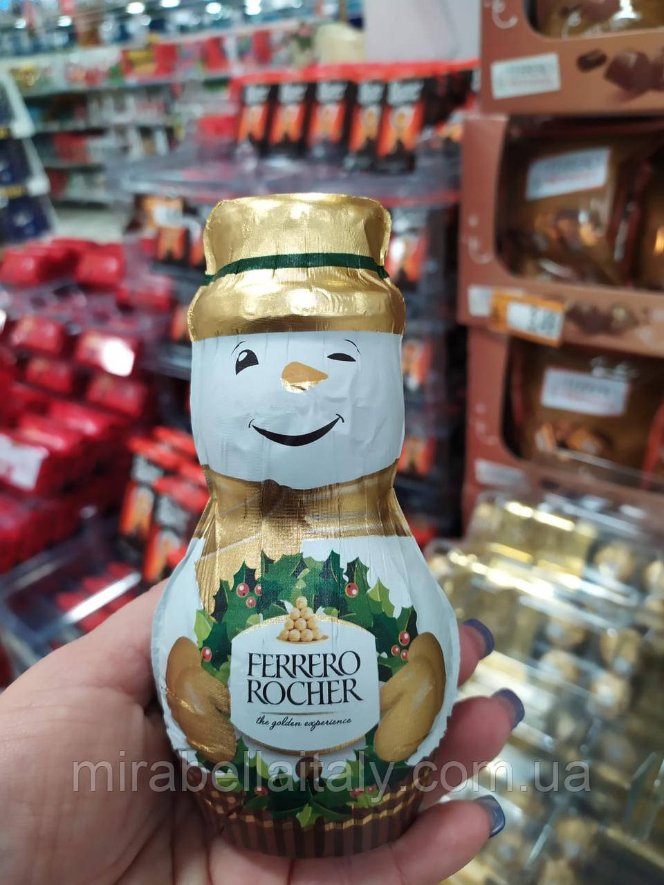Ferrero Rocher снеговик