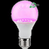 Фитолампа светодиодная лампа для растений 12W E27 LM3098 Lemanso