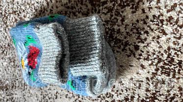 Шерстяні шкарпетки зимові, фото 2