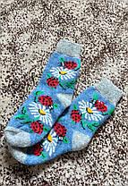 Шерстяні шкарпетки зимові, фото 3